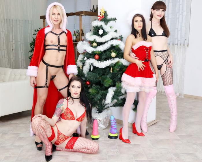 [LegalPorno.com] Anna De Ville, Nicole Black, Sindy Rose, Natalie Mars - WTFucking XMAS 1 Anna De Ville, Nicole Black And Sindy Rose Get Fucked By Natalie Mars And Monster Toys GIO1310 (2019) HD 720p