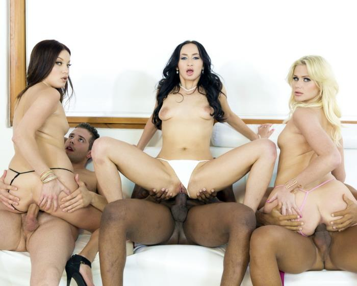[LegalPorno.com] Roxy Dee, Lara Onyx, Katie Montana - Roxy Dee, Katie Montana And Lara Onyx 3 On 3 Orgy With DP And Intense Anal Fucking RS169 (2016)