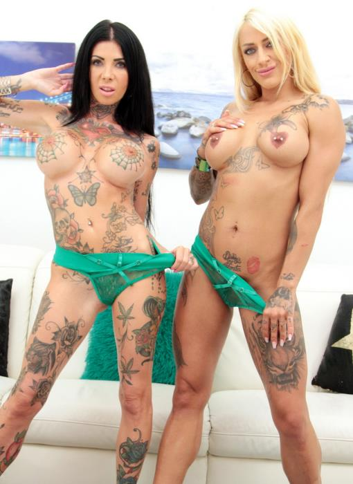[LegalPorno.com] Megan Inky, Harleen Van Hynten - Tattooed Sluts Megan Inky And Harleen Van Hyteen Double Anal Fucked Together In Hot 5 On 2 Orgy SZ2533 (2020) FullHD 1080p