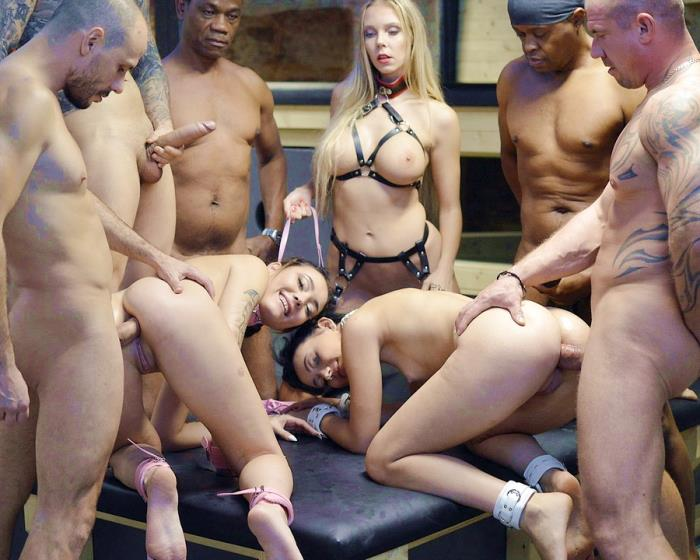 [LegalPorno.com] Florane Russell, Lady Zee, Sandra Zee - 19 Years Old Zee Twins  6 On 2 Orgy In SW Club DAP, DP, Deepthroat, Domination, Lesbian, Interracial, Gapes, Ass To Mouth NF044 (2020)