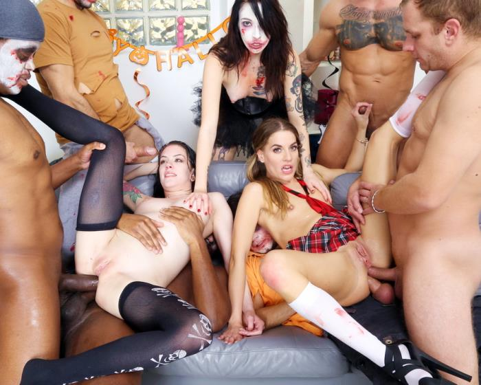 [LegalPorno.com] Anna De Ville, Eveline Dellai, Giada Sgh - Halloween Gets Spooky And Wet! Anna De Ville And Eveline Dellai Turn Into Zombies And Make Big Mess GIO1636 (2020) HD 720p