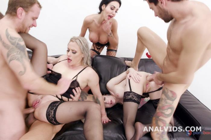 [LegalPorno.com] Anna De Ville, Brittany Bardot, Laura Fiorentino - Fuck, This Aint Normal Christmas 1 Wet, Mad House, Balls Deep Anal, DAP, Gapes, Pee Drink, Buttrose And Creampie GIO1671 (2020)